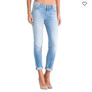 J Brand Jake Skinny Boyfriend Jeans